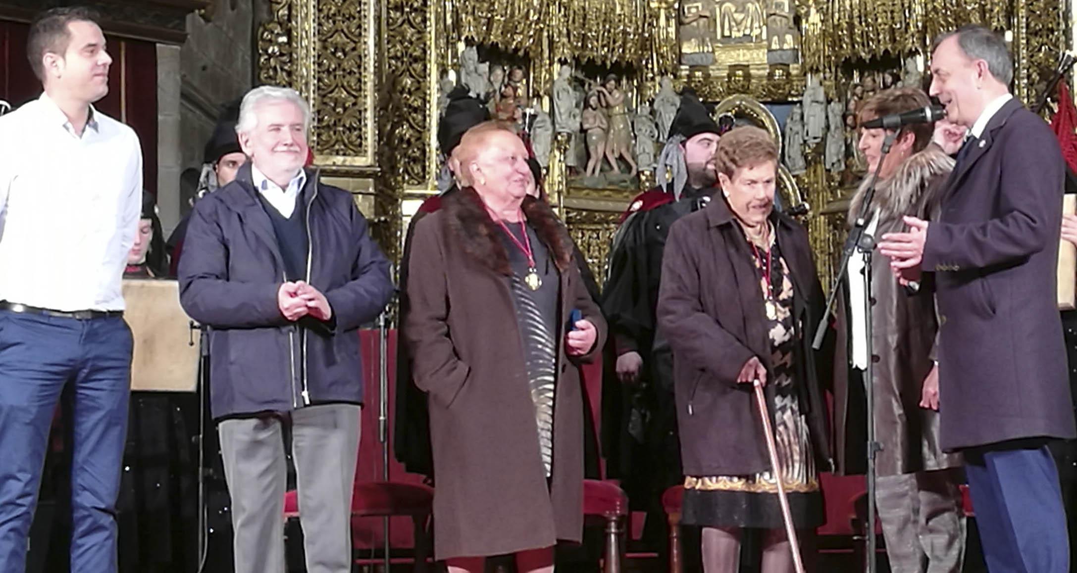 """Photo of As Cantareiras de Placín (Manzaneda), protagonistas do """"Concerto de Reis"""" da Real Banda de Gaitas da Deputación de Ourense"""