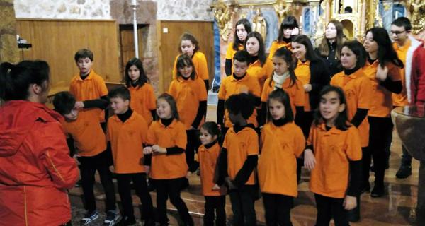 Photo of Concerto da Coraliña Cantora de Trives na igrexa de Vilanova (O Barco)
