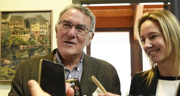 Photo of Visita da directora xeral de Administración Local ao Barco