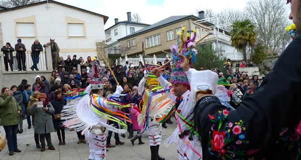 Photo of A IV Mascarada Ibérica enche de rituais de inverno Vilariño