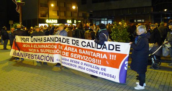 """Photo of Concentración no Barco para reivindicar que """"somos área sanitaria"""""""