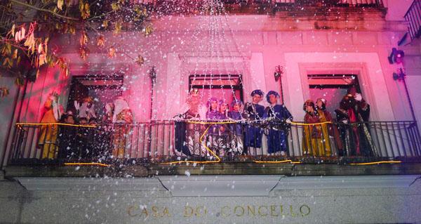 Photo of O Barco recibe aos Reis Magos cunha nevada