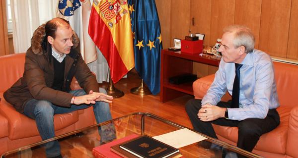 Photo of Reunión do subdelegado do Goberno en Ourense co alcalde de Vilar de Santos