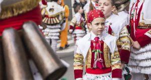 Máis de 1.500 cativos participan no desfile infantil do Entroido de Verín
