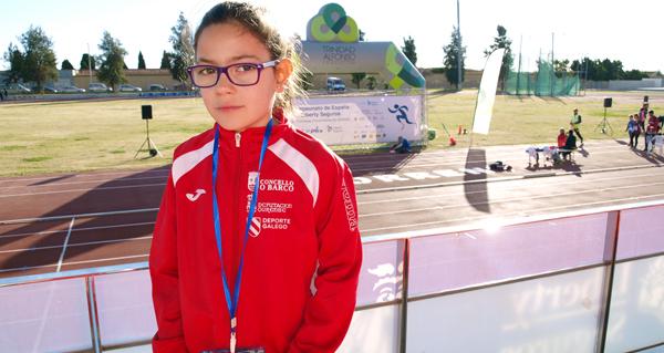 Photo of 3 ouros para a atleta Xiana Pungín (Adas) no campionato de España de promesas paralímpicas