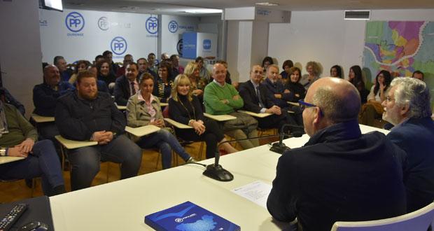 Photo of O PPdeOU elixe aos representantes da provincia para a convención nacional de Sevilla