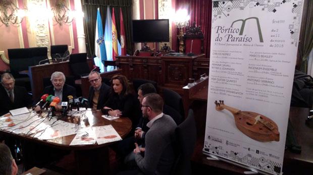Photo of Carlos Núñez ofrecerá o concerto inaugural do festival Pórtico do Paraíso, en Ourense