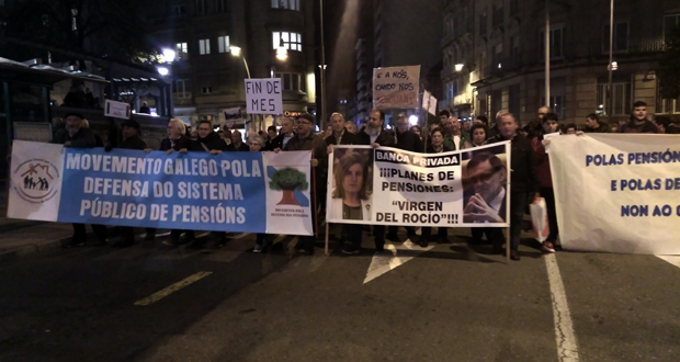 Photo of Mobilización en Ourense contra a suba do 0,25% das pensións
