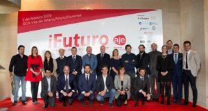 Os xóvenes empresarios ourensáns celebran o seu primeiro congreso en Allariz