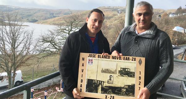 Photo of O coordinador do CT de Galicia de EMCOM España visita a comarca trivesa