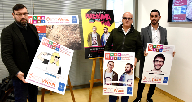 "Photo of A ""ICC Week 2018"" presenta o humor como industria cultural e creativa"