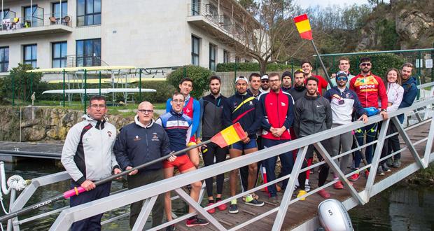 Photo of As seleccións españolas de remo e piragüismo adestran en Laias