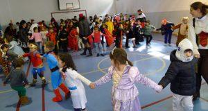Festa de Carnaval no CEIP Otero Pedrayo de Viloira (O Barco)