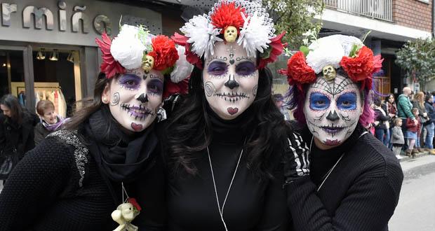 Photo of O desfile de Carnaval do Barco en imaxes