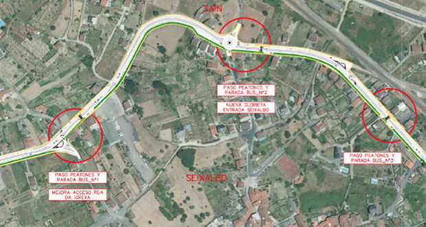 Photo of As melloras da estrada de Seixalbo xa están licitadas por 800.000 euros