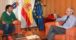 O alcalde da Veiga reúnese co subdelegado do Goberno en Ourense