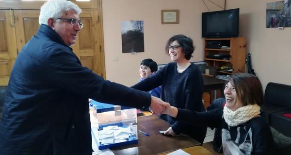 Photo of Xosé Carballido Presas, novo presidente da asociación veciñal San Breixo de Seixalbo