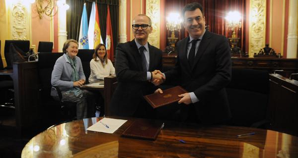 Photo of O Concello de Ourense e a Xunta asinan un convenio para axilizar as intervencións no núcleo etnográfico de Seixalbo