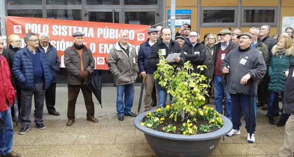 """Photo of Nova concentración no Barco para demandar """"pensións dignas"""""""