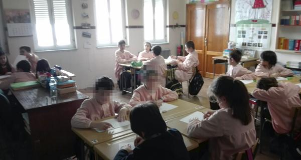"""Photo of Os estudantes de Valdeorras traballan sobre """"os castiñeiros de Florencio Delgado Gurriarán"""""""