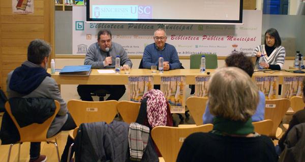 """Photo of """"O culto da auga"""", nas conferencias sobre termalismo da Biblioteca de Verín"""