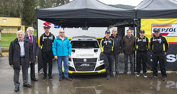 Photo of Suzuki presenta, no Balneario de Laias, o equipo de rallyes 2018