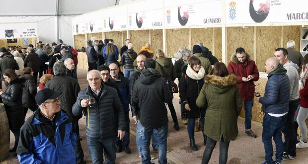 Photo of Ábrese a XXXVIII Feira do Viño de Amandi en Sober