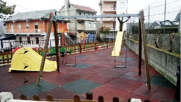 Photo of A Veiga acondiciona dous parques infantís