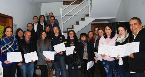 Photo of Clausúrase no Carballiño un curso de formación para desempregados