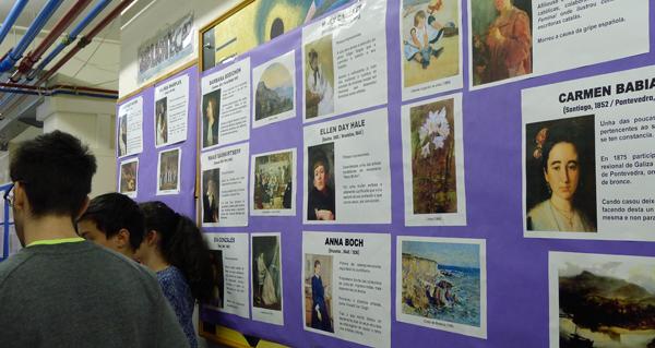 """Photo of """"Mulleres"""", un interesante proxecto expositivo do IES Lauro Olmo"""