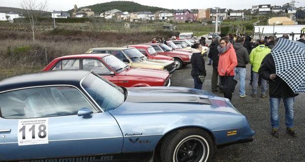 Photo of A II Concentración de Clásicos Concello de Larouco reúne a uns 70 vehículos