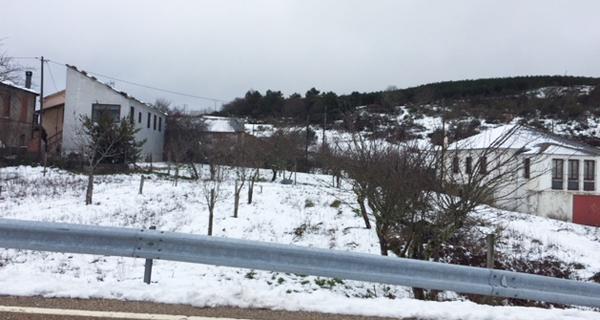 Photo of Alerta amarela por neve nas montañas ourensás