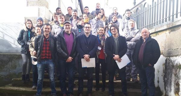 Photo of Clausúrase en Viana o obradoiro para a mocidade Bibei Frieiras