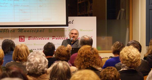 Photo of Juan Antonio Fernández Rivero abre o ciclo sobre termalismo na Biblioteca de Verín