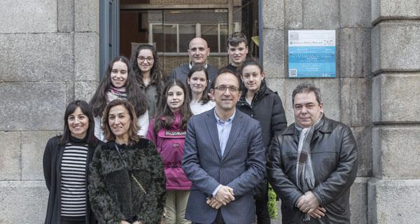Photo of O secretario xeral de Cultura visita a Biblioteca de Verín