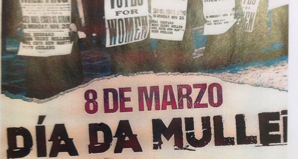 Photo of Concentración en Vilamartín con motivo do Día da Muller