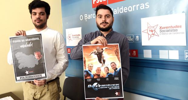 """Photo of As Xuventudes Socialistas do Barco reivindican que """"Valdeorras existe"""""""