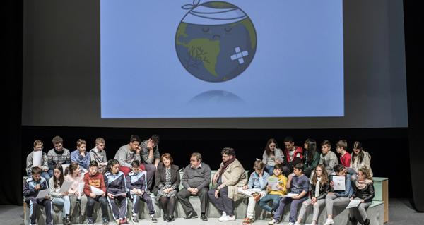 Photo of A conservación ambiental, a reciclaxe e a prevención de incendios centra o pleno infantil en Verín