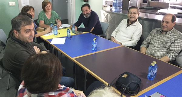 Photo of Asfaval recibe a visita do presidente de Fademga-Plena Inclusión Galicia
