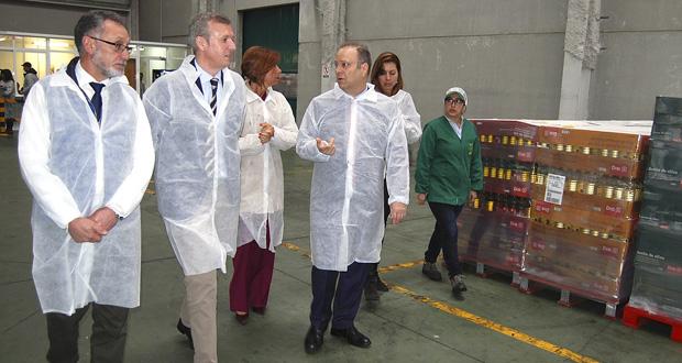 Photo of Rueda visita a empresa ourensá Aceites Abril