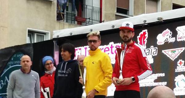 Photo of Alejo Ares (Adas), bronce no campionato de España de 10 km ruta
