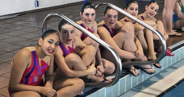 Photo of Sete medallas para o Sincro Ourense no IV trofeo Concello de Oleiros de natación artística