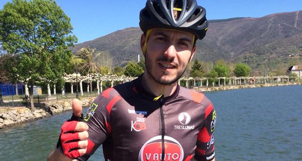 """Photo of O valdeorrés Pablo Diéguez será un dos ciclistas presentes na Titan Desert """"máis dura da historia"""""""
