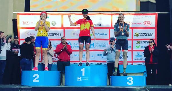Photo of A máster Mónica Restrepo (Tres Lunas) imponse no campionato de España de ultramaratón