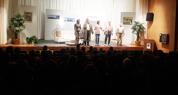 "Photo of ""Fuga"" de Gargallada Teatro enche o auditorio trivés"