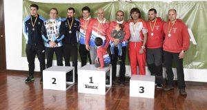 """O Fluvial Barco gana o Campionato de España de descenso """"clásica"""" de augas bravas por patrullas"""