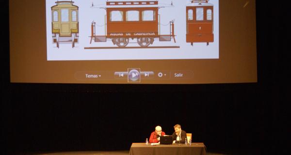 Photo of Unha conferencia achega, detalle a detalle, o antigo tranvía de Verín