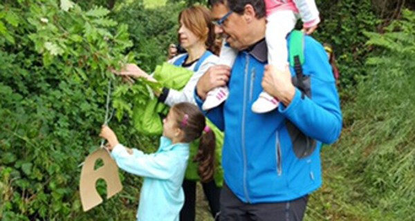 Photo of Xinkana aventureira en Trives para celebrar o Día do Libro