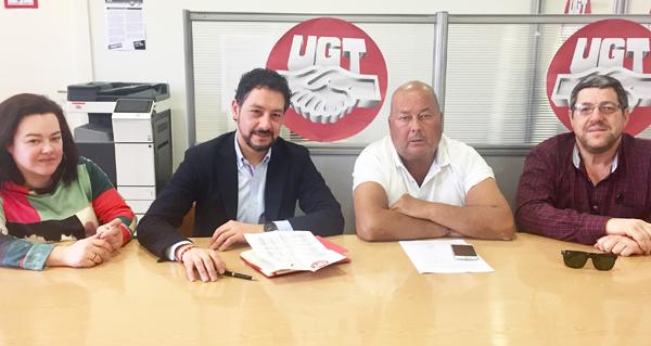 Photo of O deputado Moisés Blanco (PP) reúnese co responsable de Minería de UGT-FICA en Galicia