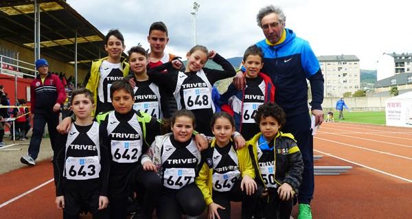 Photo of Bos resultados para os atletas triveses na xornada previa escolar de pista no Barco
